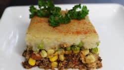 Shepherd's Pie Vegan tofu cauliflower