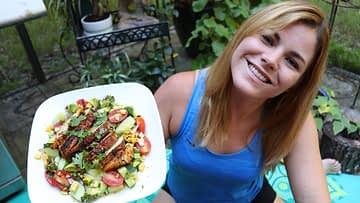 Grilled Cajun Salad pic