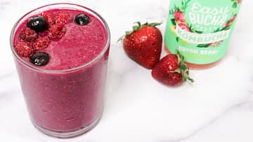 Berry Kombucha Smoothie