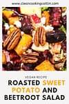 sweet potato and vegetables salad