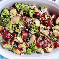 Vegan Red Potato Broccoli Salad