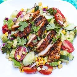 cajun chicken salad grilled