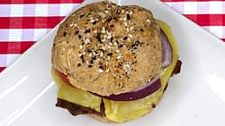 Everything Seed Hamburger Buns