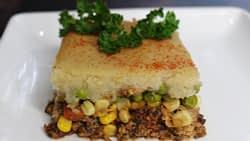 Shepherd's Pie Vegan tofu cauliflower