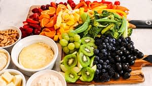Pride Rainbow Charcuterie with Phytonutrient Benefits