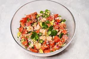 Shrimp Watermelon Salad