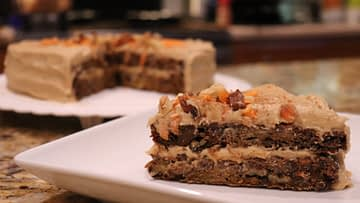 Beet Date Carrot Cake