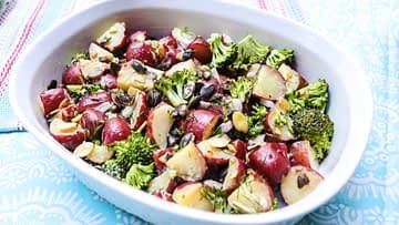 Vegan Red Potato Broccoli Salad