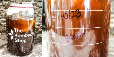 put kombucha aside for at least seven days
