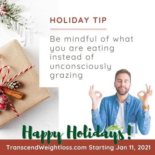 Mindful eating holiday tip