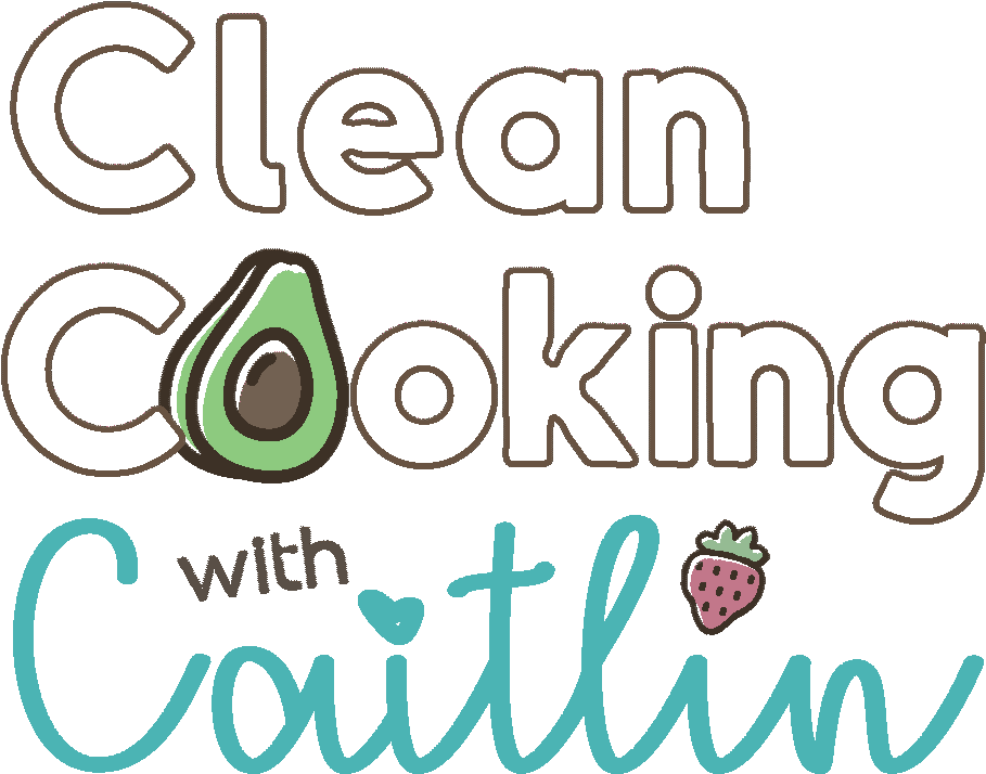 Clean Cooking with Caitlin Logo